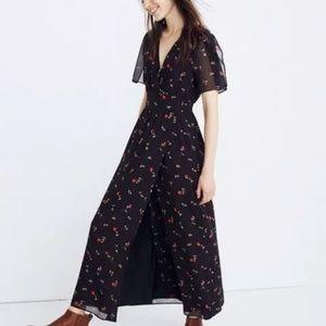 NWT Madewell Floral Maxi Dress - Women's 18